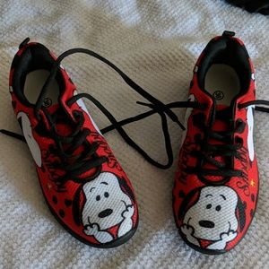 Snoopy Shoes | Snoopy Tennis Shoes Nwot